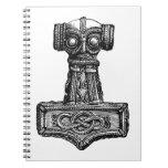 Mjolnir: El martillo del Thor Libros De Apuntes