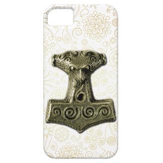 Mjölnir en el verde - caso 1 del iPhone iPhone 5 Funda