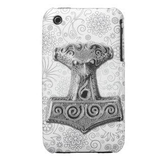 Mjölnir en la plata - caso 2 del iPhone Case-Mate iPhone 3 Cárcasas