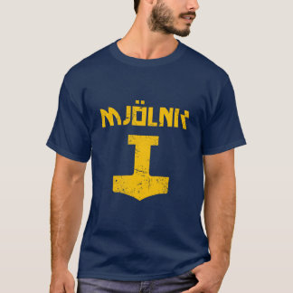 mjolnir_golden_destroyed T-Shirt