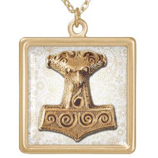 Mjölnir in Gold - Gold Necklace