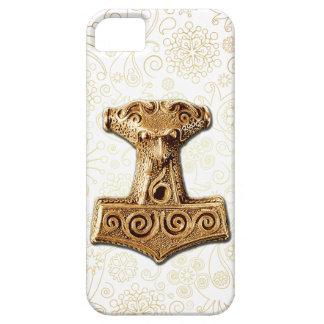 Mjölnir in Gold - iPhone Case 1