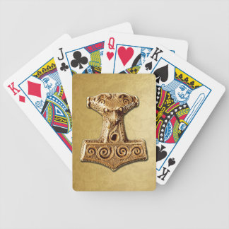 Mjölnir in Gold - Playing Cards 1