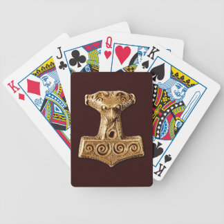 Mjölnir in Gold - Playing Cards 2