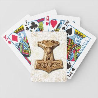 Mjölnir in Gold - Playing Cards 3
