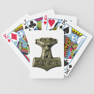 Mjölnir in Green - Playing Cards 1