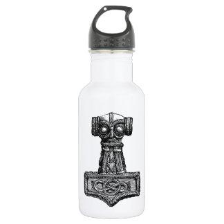 Mjolnir: Thor's Hammer Stainless Steel Water Bottle