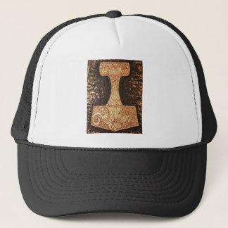 Mjolnir, thor's hammer trucker hat
