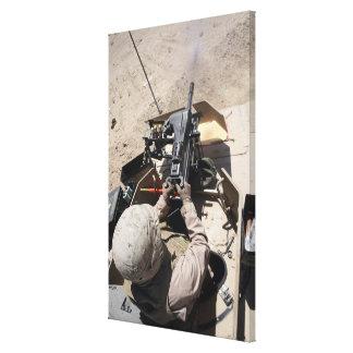 MK-19 automatic grenade launcher Canvas Print