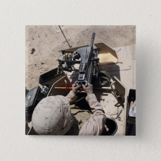 MK-19 automatic grenade launcher Pinback Button
