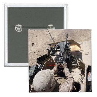 MK-19 automatic grenade launcher Pinback Button