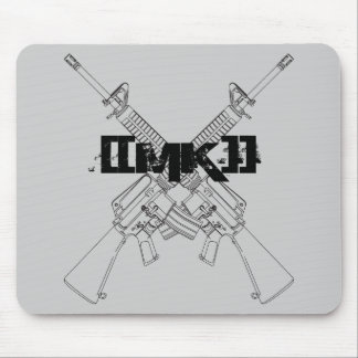 [[MK]] cojín de ratón de los rifles de asalto Alfombrilla De Ratón