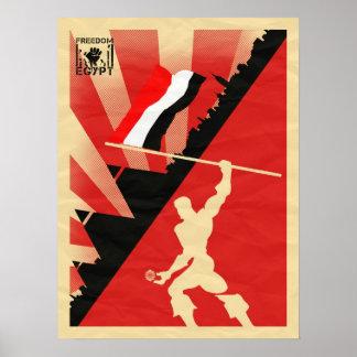 MKD - FREEDOM EGYPT POSTER