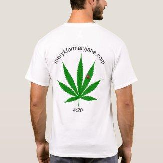 MKFMJ Marijuana Leaf Tee-Shirt