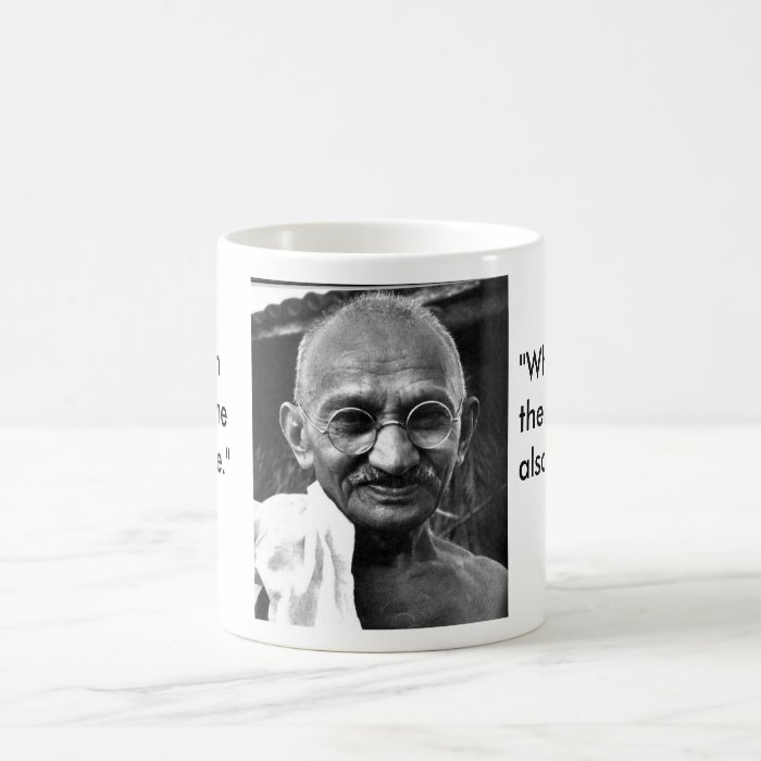 MKGandhi Coffee Mug