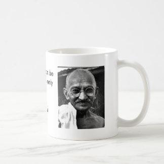 MKGandhi Classic White Coffee Mug