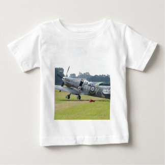 MkIX Spitfire At Rest Baby T-Shirt