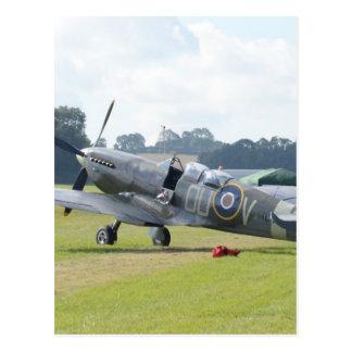 MkIX Spitfire At Rest Postcard