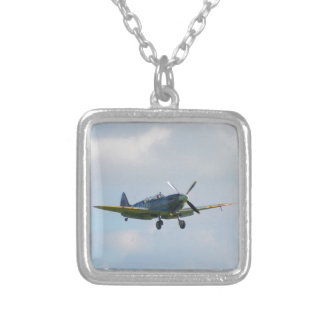 MKIX Spitfire Silver Plated Necklace