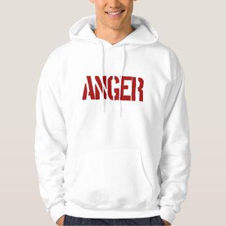 MKM Anger Hoody White