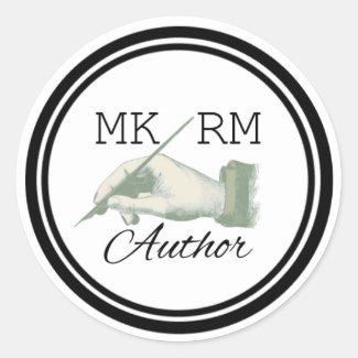MKRMAuthor Logo Sticker