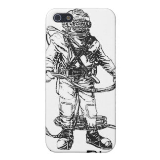 MKV Diver- Customizable Text iPhone 5 Covers