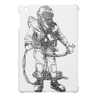 MKV Navy Deep Dive Gear Cover For The iPad Mini