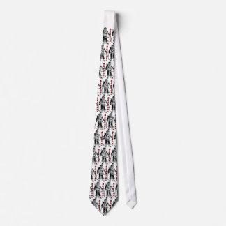 MKV tie with Asian script