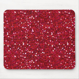 MLA DARK HOT PINK GIRLY GLITTER BACKGROUND TEMPLAT MOUSE PAD
