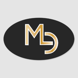 MLC Oval Decal Oval Sticker