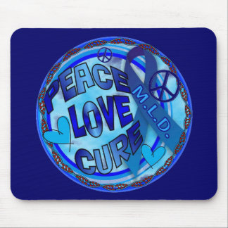 mld  AWARENESS PEACE LOVE CURE Mouse Pad