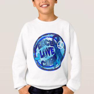 mld  AWARENESS PEACE LOVE CURE Sweatshirt
