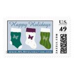 MLD Christmas Stockings Postage Stamps
