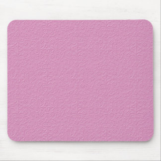 MLE GIRLY ICE-CREAM PINK DECORATIVE  EMBOSSED PATT MOUSE PAD