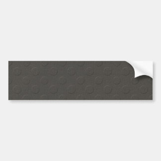 MLE pd35 DARK GREY GRAY EMBOSSED PATTERN TEXTURE T Bumper Sticker