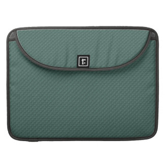 MLE pd36 TEAL EMBOSSED PATTERN TEXTURE TEMPLATE WA MacBook Pro Sleeve
