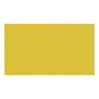 MLE pd36 YELLOW POLKADOT DECORATIVE EMBOSSED PATTE Double-Sided Standard Business Cards (Pack Of 100)