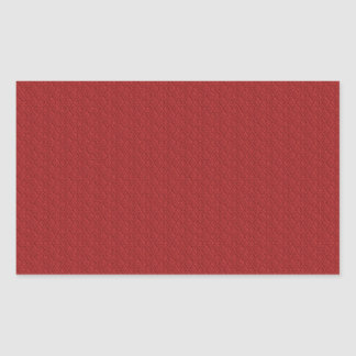 MLE RED ARGYLE EMBOSSED PATTERN TEXTURE TEMPLATE W RECTANGULAR STICKER