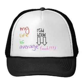 mlia, (meh!!!) trucker hat