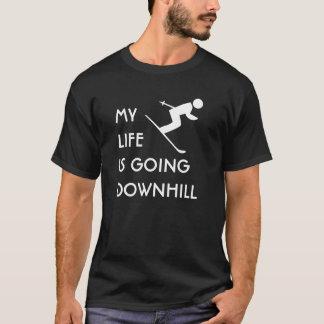 MLIGD - Skier - black shirt - white design