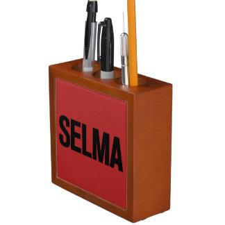 MLK Day- Selma Black on Red