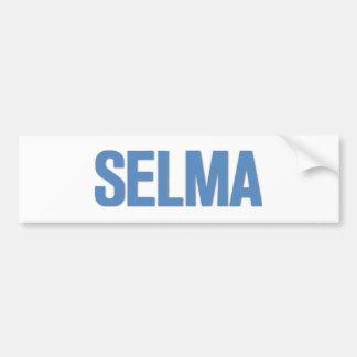 MLK Day-Selma Blue Bumper Sticker