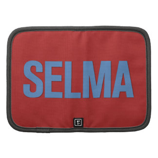 MLK Day-Selma Blue on Red