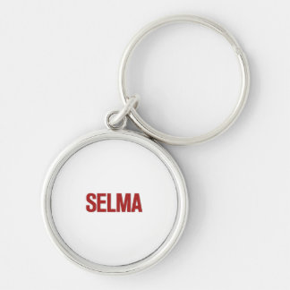 MLK Day-Selma Red Key Chains