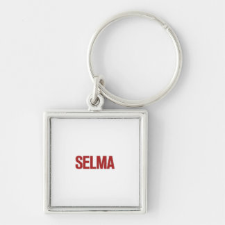 MLK Day-Selma Red Keychain