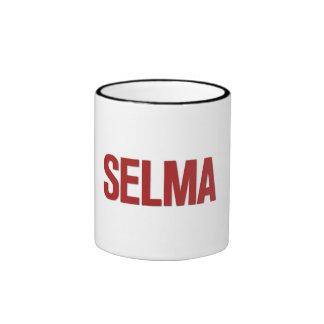 MLK Day-Selma Red Mugs