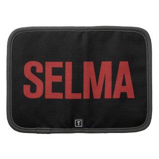 MLK Day-Selma-Red on Black Organizer