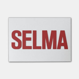 MLK Day-Selma Red Post-it® Notes