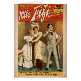 Mlle. Fifi Card