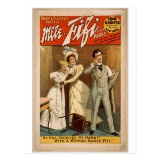 Mlle. Fifi Postcard